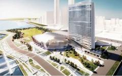 """长江之滨的新地标建筑正以""""江北速度""""大干快上"""
