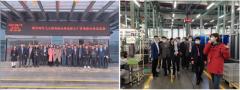 德力西电气工控战略合作伙伴芜湖自动化生产基地参观暨